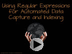 Learn about using regular expressions for data mining document capture